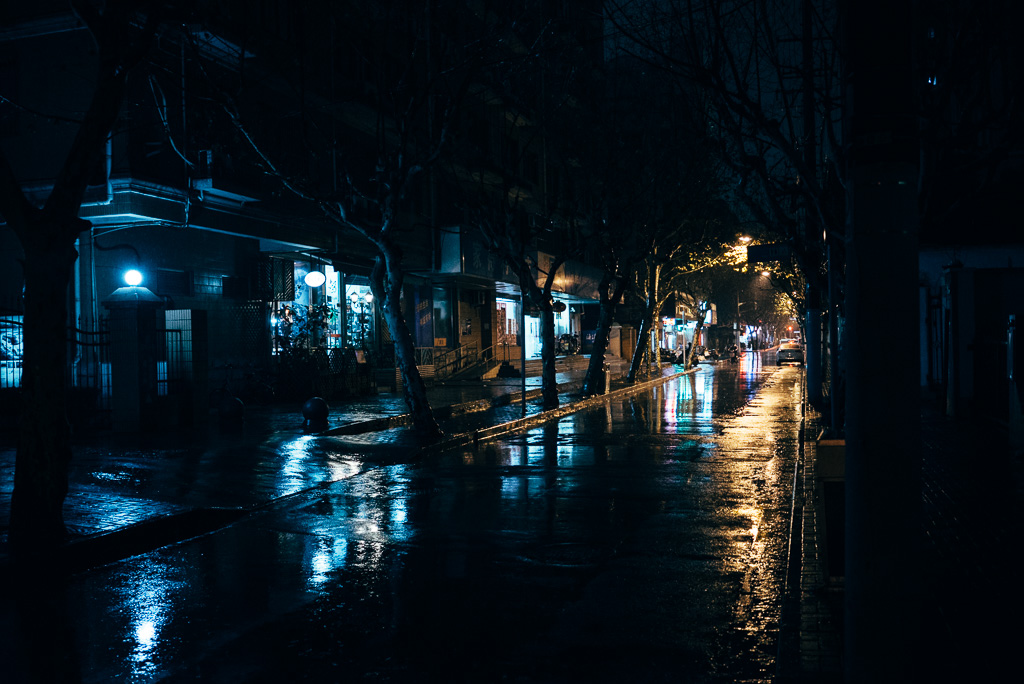 Rainy Night by Gino Zhang, on Flickr