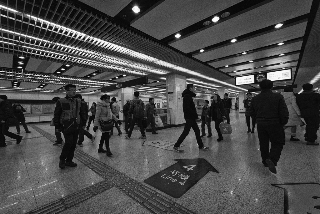 Century Avenue Station, Shanghai Metro by Gino Zhang, on Flickr