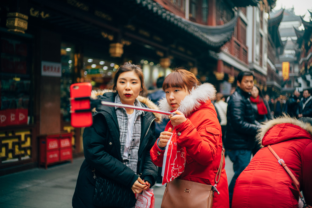 Tourists taking selfie by Gino Zhang, on Flickr