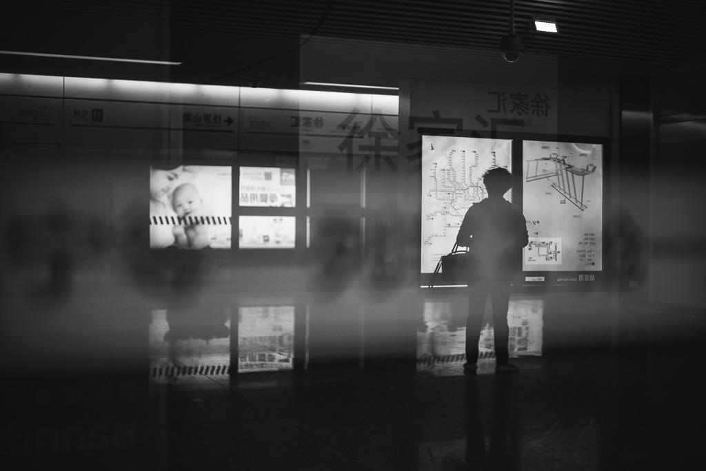 Xujiahui Metro Station by Gino Zhang, 於 Flickr, 於 500px