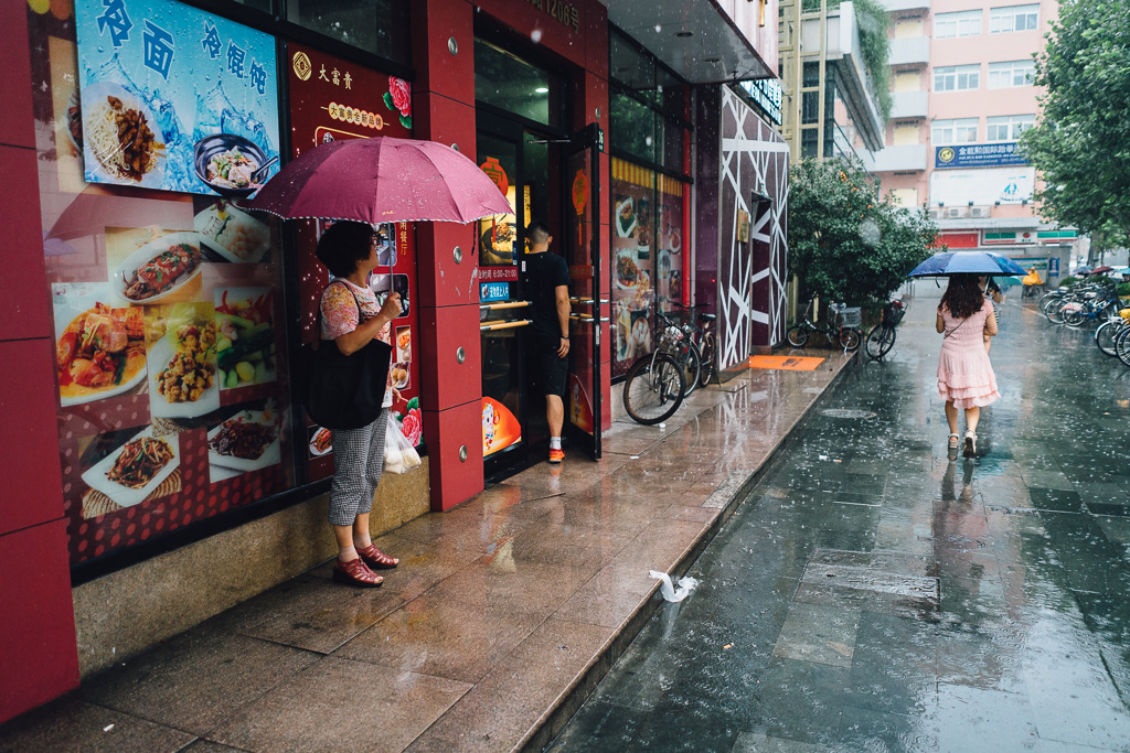 Shelter from the Rain by Gino Zhang, on Flickr, on 500px