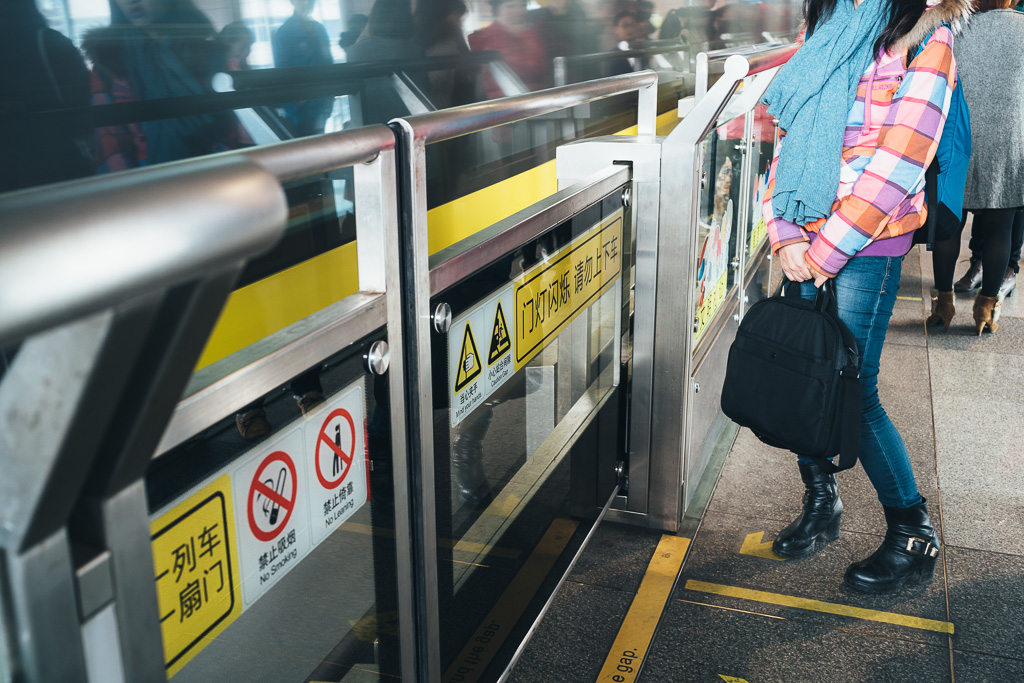 """""""Incoming Metro Train"""" by Gino Zhang, on Flickr, on 500px"""