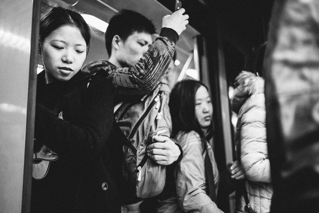 """""""A Common Picture of Shanghai Metro"""" by Gino Zhang, on Flickr, on 500px"""