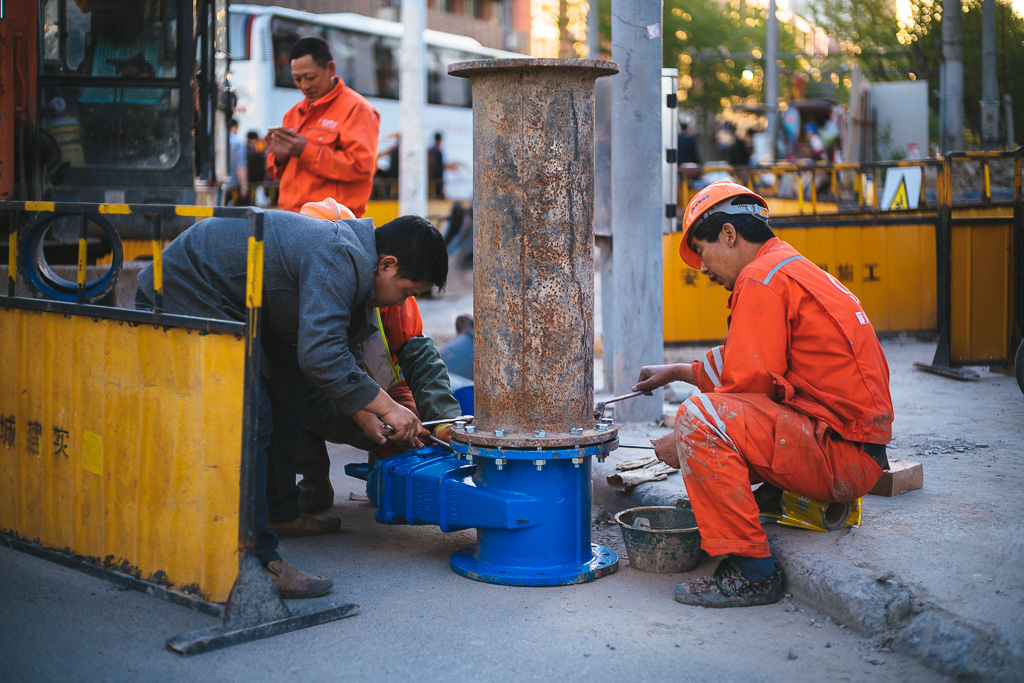 """Workers"" by Gino Zhang, on Flickr, on 500px"